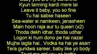 Tanning Full Song Lyrics Yo Yo Honey Singh Desi