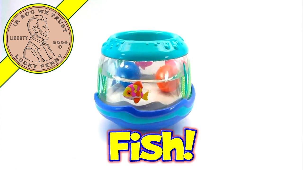 fisher price ocean wonders musical fish bowl aquarium toy