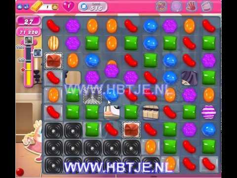 Candy Crush Saga level 516