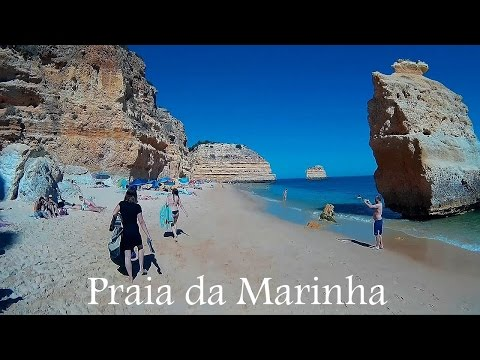 ALGARVE: Praia da Marinha, beach (Portugal) HD