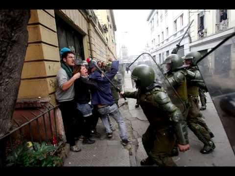 La lucha de los estudiantes de Chile desde el lente de Carlos Vera Mancilla