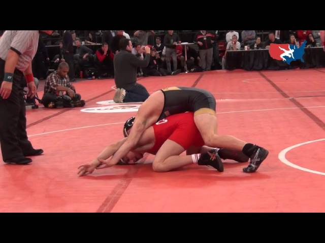 McCormick (MO) dec. Arujau (CO), 133 lbs., 2012 Grapple at the Garden