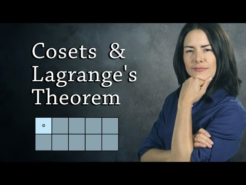 Cosets and Lagrange's Theorem - The Size of Subgroups  (Abstract Algebra)