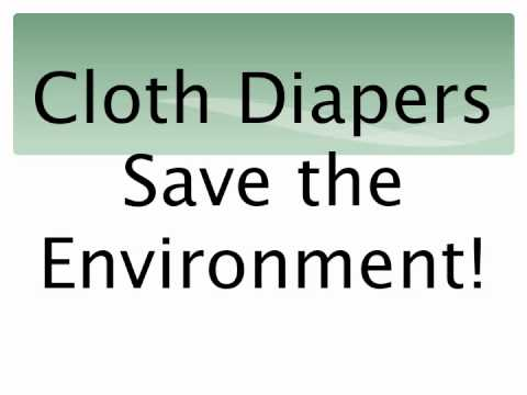 Benefits of using cloth diapers!