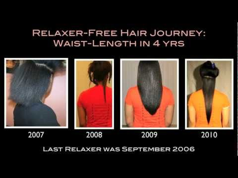 Swang: Reniece's Relaxed &amp; Natural Hair Journey and Length Check