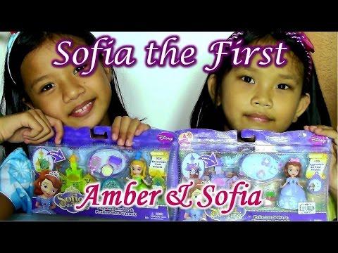 Disney Junior Sofia the First - Disney Princess Amber and Princess Sofia