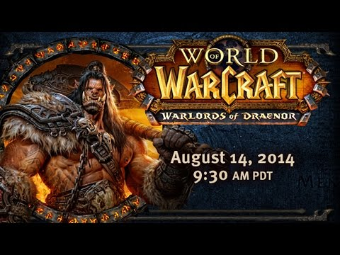 WoW: Warlords of Draenor Cinematic and Street-Date Reveal Event