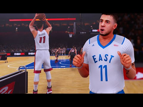 All-Star Game (Feat. 3 Point Contest) - NBA 2k16 My Career Ep.15