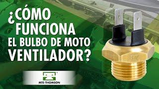Cómo funciona el bulbo moto ventilador?