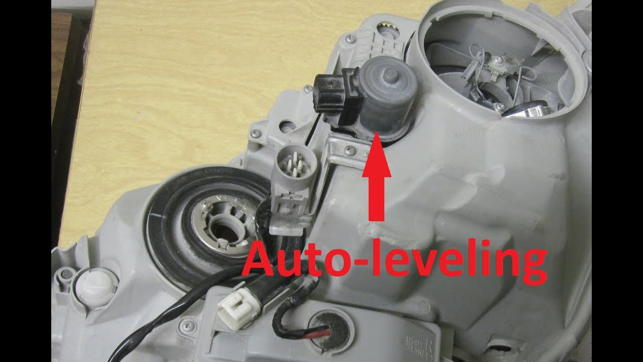 How To Replace Bad Lexus Auto Leveling Motor For Ls430