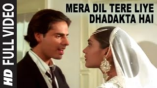 Mera Dil Tere Liye Dhadakta Hai - Aashiqui Video Song