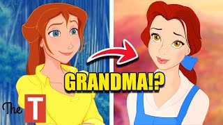 10 Disney Movie Characters Who Are Related You Never Knew About