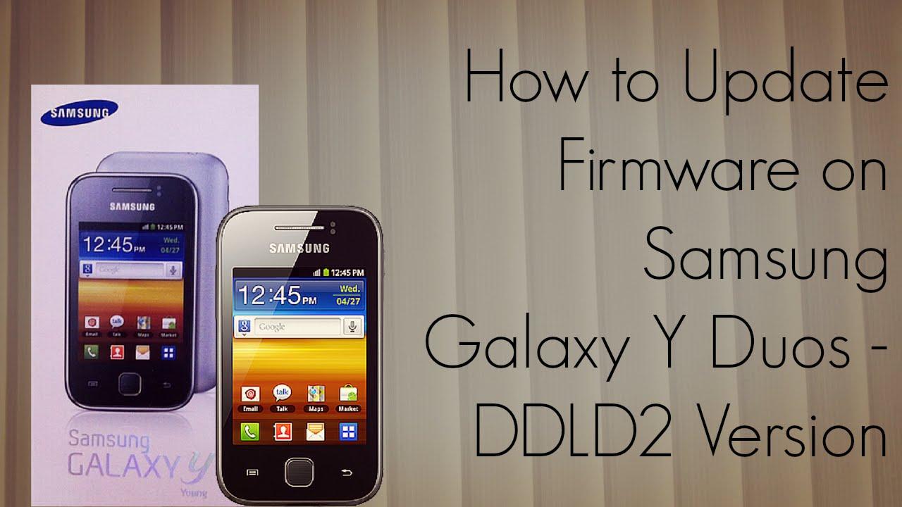 Download Samsung GALAXY Y GT-S B firmware