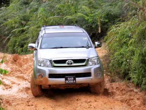 Offroad Journey to Kg.Abingkoi, Tenom