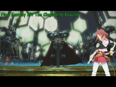 Final Fantasy XIV The Singularity Reactor Trial plus ending credits