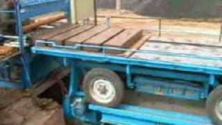 Semi Automatic Brick Cutter