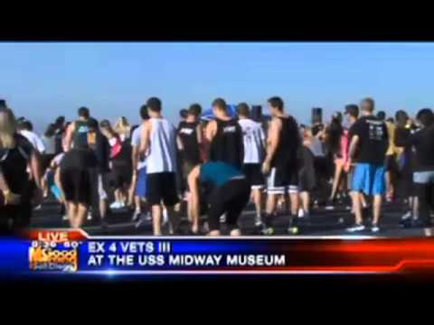 San Diego KUSI live coverage of EX 4 Vets III Part 2