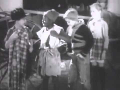 Mickey's Race 1933 - Rare Mickey Rooney Short Fim