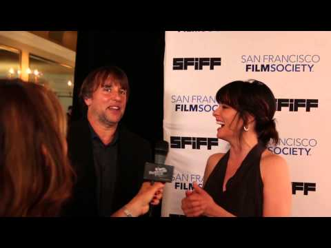 Parker Posey and Richard Linklater with Film Festival Flix on the Red Carpet at SFIFF