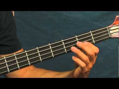 online bass guitar lesson killing in the name of rage against the machine