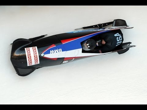 Men's and Women's two-man Bobsled Selection Race, Lake Placid, October 12
