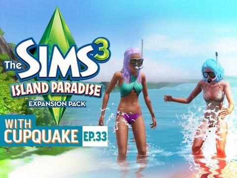 """""""IM A MERMAID!"""" Sims 3 Island Paradise Ep 33"""