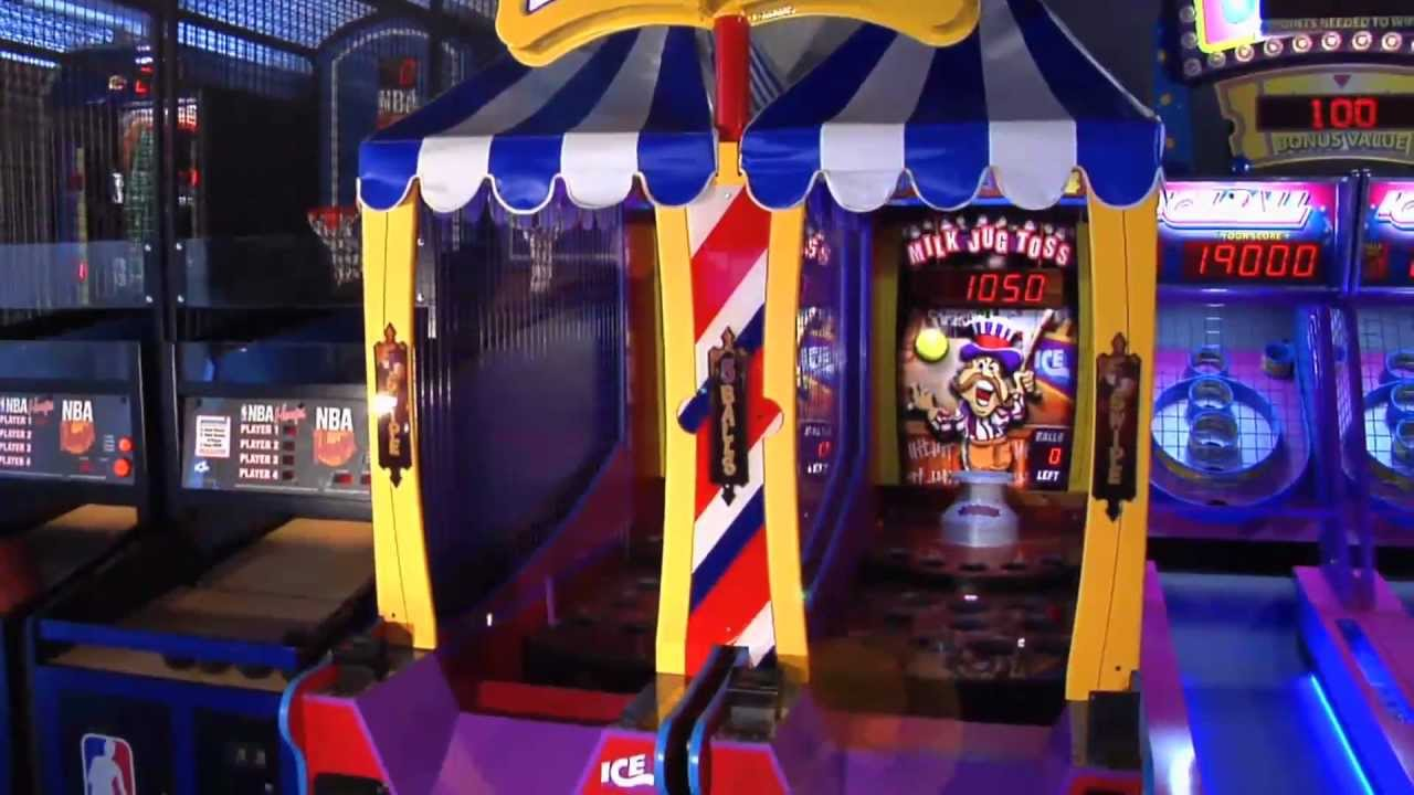 jug toss machine