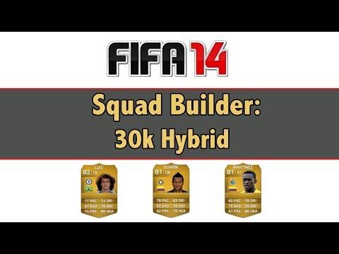 FIFA 14 Next Gen / Squad Builder: 30k Hybrid