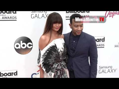 Chrissy Teigen, John Legend Hot Couple! Billboard Music Awards 2014 Redcarpet