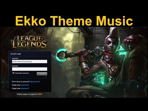 Ekko Login Theme Music - Is this the song from the teaser trailer?