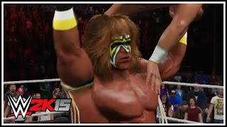 WWE 2K15 New Gameplay Screenshots Ultimate Warrior