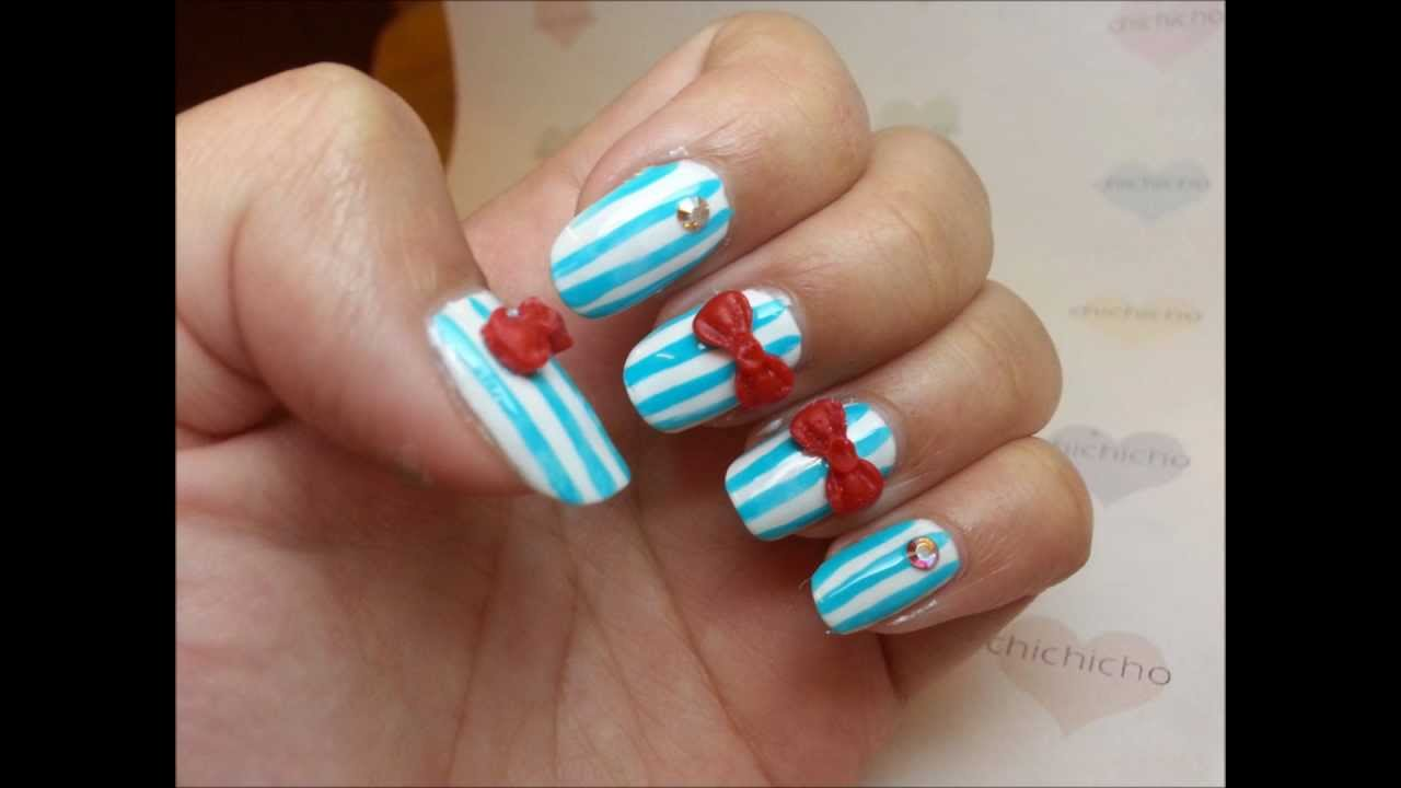 How to use 3D nail art mold? - YouTube