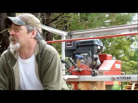 Affordable Portable Sawmill - Junior Peterson Mill (JP)