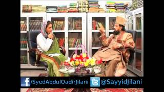 Mufakkir-e-Islam Pir Syed Abdul Qadir Jilani Exclusive Interview with Aaj News TV Pakistan 2014