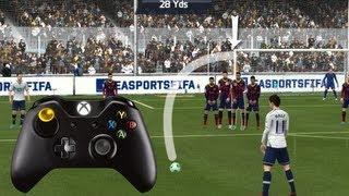 FIFA 15/FIFA 14 CURVE FREE KICK TUTORIAL