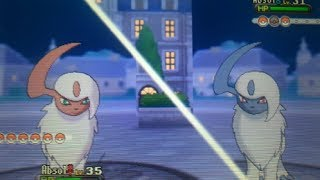 Random Shiny Absol Appears In Pokemon X! My 1st X And Y