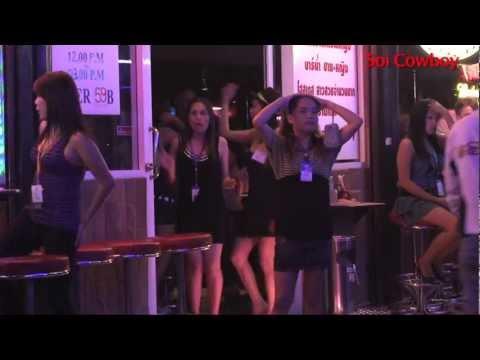 Red Light Districts of Bangkok - Soi Cowboy, Patpong, Nana