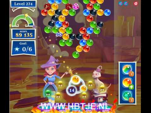 Bubble Witch Saga 2 level 274