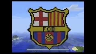 all comments on minecraft pixel art fc barcelona youtube
