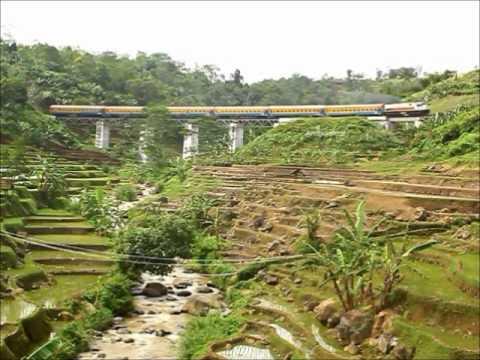 [train compilation] Pesona Jembatan Kereta Api Cimeta