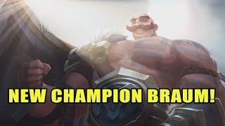 New Champion Braum, Karthus Visual Update & Warwick Rework