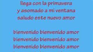 """Palito Ortega """"Bienvenido Amor"""" (cancion Con Letra)"""