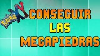 Pokemon X Y Como Encontrar Las Megapiedras Y Actualizando