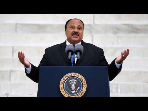 Martin Luther King III in Father's Place - March on Washington 2013