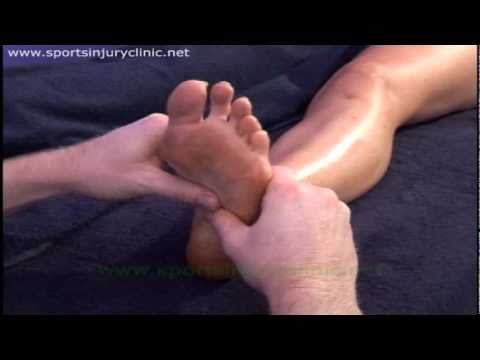 Sports Massage Techniques for treating Plantar Fasciitis ...