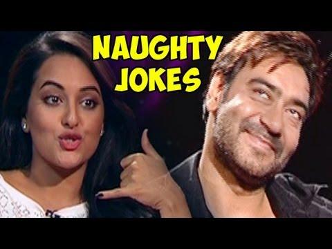 Shahid Kapoor, Sonakshi Sinha, Sonam Kapoor, Ajay Devgn & John describe their Naughtiest Joke