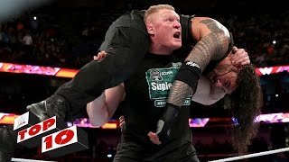 Top 10 Raw moments: WWE Top 10, January 11, 2016