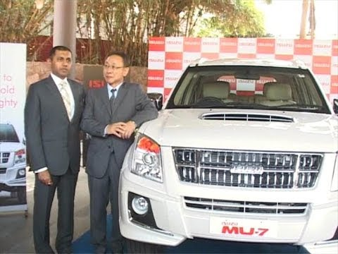 Isuzu -India made MU7 SUV unveiled in Beach City of Andhra pradesh