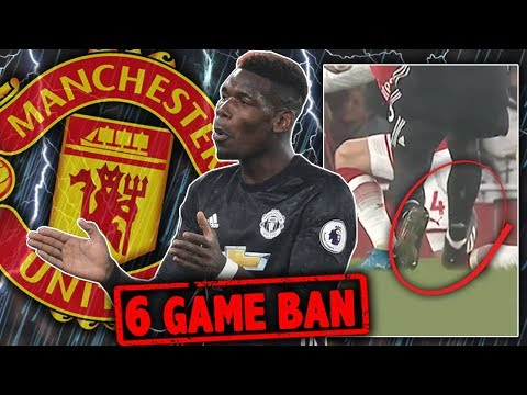 BREAKING: Paul Pogba To Be BANNED Until 2018?! | W&L