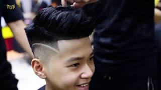 Kiểu tóc Mohawk cho học sinh cấp 3